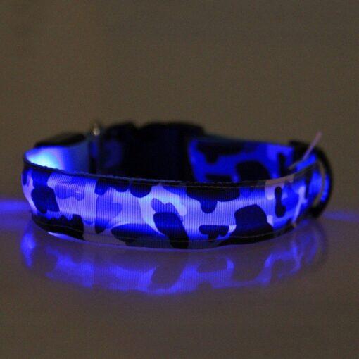Leuchthalsband, Halsband led, Hundehalsband leuchtend
