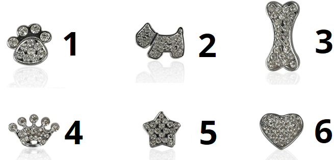 Hundehalsband Gravur Symbole