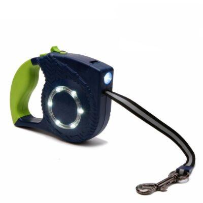 Hundeleine mit Taschenlampe, Hundeleine mit LED Licht, Hundeleine mit LED Licht