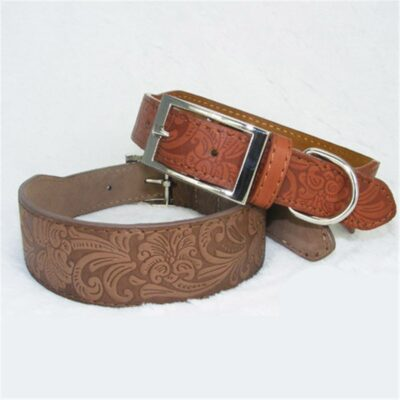 Lederhalsband für Hunde