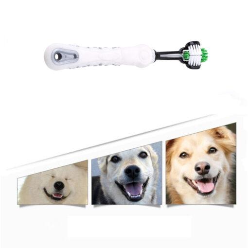 Hundezahnbürste, Zahnbürste für Hunde, Maulpflege, Zahnpflege für Haustiere, Zahnpflege für Hunde