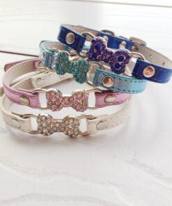 Leder-Halsband für Hunde, Onlineshop für Tierbedarf Leinen und Halsbänder mit Gravur
