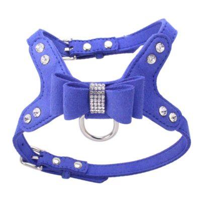 Hundegeschirr mit Diamanten, Onlineshop für Tierbedarf, Tier-Welt, Hundeweste