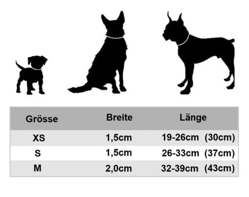 Lederhalsband mit Name, Eingravieren, Hunde-Halsband Name Gravur