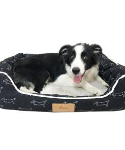 Hundebett, Hundekorb, Hundekörbchen, Hundenest