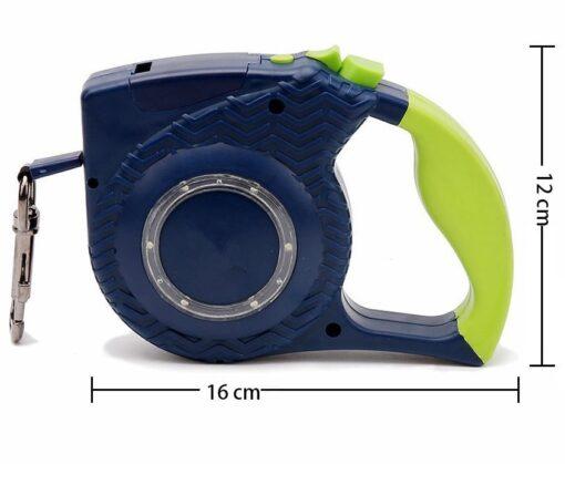 Hundeleine mit Taschenlampe LED, Taschenlampe-Hundeleine, Hundeleine mit integrierter Taschenlampe