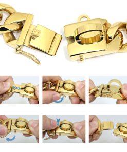 Stahlkette Hunde Halsband