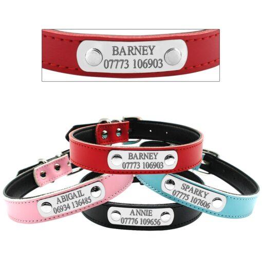 Hundehalsband mit Gravur, Name eingravieren Halsband, Leder-Leine, Echt Leder Hunde-Leine, Langleine, Rollleine kaufen, Onlineshop Leine Langleine Rollleine kaufen