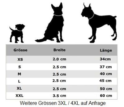 Appenzeller Leder Hundehalsband