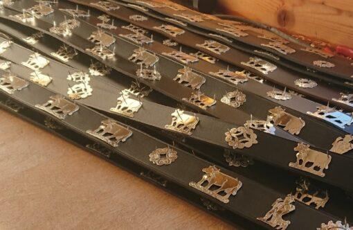 Appenzeller Hundehalsband, Lederhalsband Appenzell, Appenzeller Hundehalsband