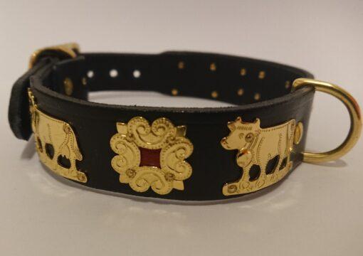 Appenzeller Hundehalsband, original, Echtleder, kaufen Schweiz