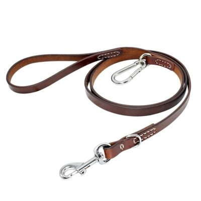 Leder-Leine, Echt Leder Hunde-Leine, Langleine, Rollleine kaufen, Onlineshop Leine Langleine Rollleine kaufen