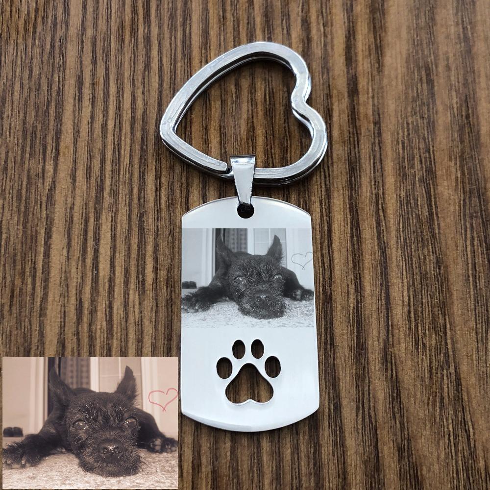 Katze 8 + Wunschnamen Schlüsselanhänger Haustier mit Katze Tier