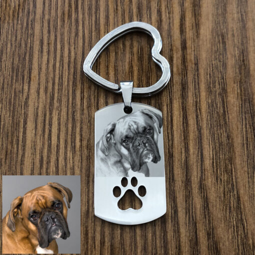 Foto Schlüsselanhänger mit individueller Gravur