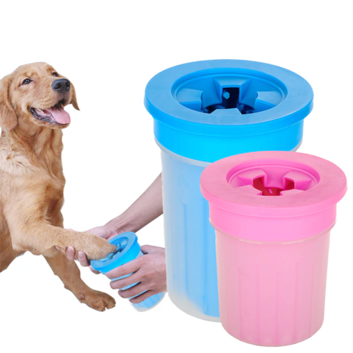Hunde-Pfoten, Pfoten-Reinigungs Becher für Hunde
