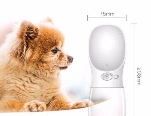 Hunde-Wasserflasche, Online-Shop Tierbedarf, Hundewasserspender