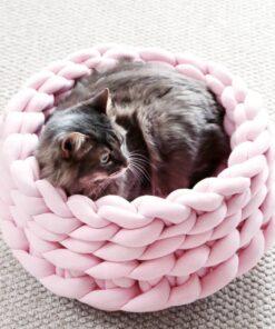Katzenbett Geflochten Kuschelig