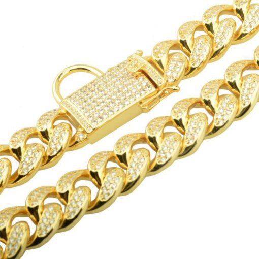 Hunde Halskette, Edelstahl-Halsband für Hunde
