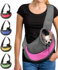 Umhängetasche für Hunde