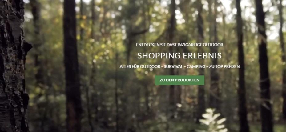 Outdoor Produkte Online-Shop Schweiz, Survival, Wander, Rucksack, Camping, Jacke kaufen Schweiz