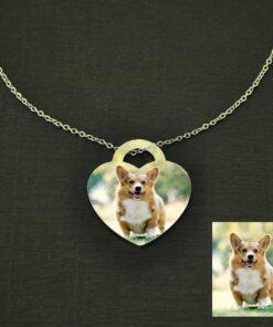 Haustier Foto-Halskette