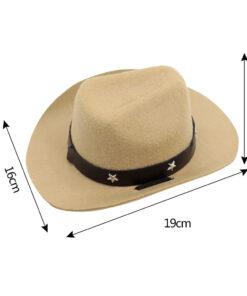 Cowboy Hut für Hunde