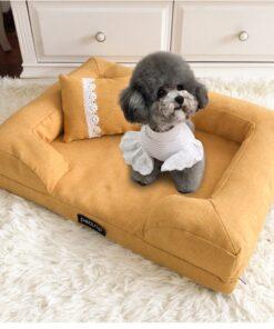 Hundebett mit Gesundheits-Matratze