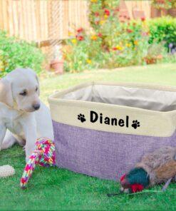 hundespielzeug box mit namen