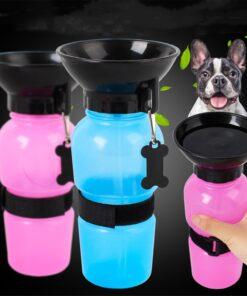 Trinkflasche für Hunde mit Trichter