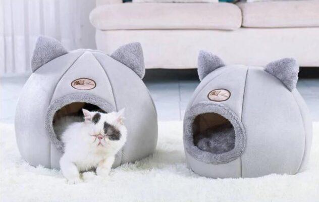 Kuschelige Katzen Höhle