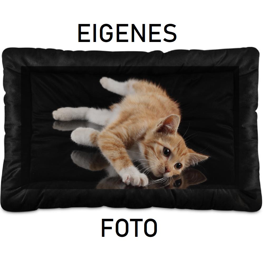 Haustierbett mit eigenem Foto